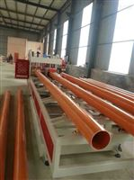 80/156锥形双螺杆挤出机CPVC电力管生产线挤出机设备生产机器