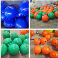 海上警示浮球 海上工程浮球 加吊環塑料浮球