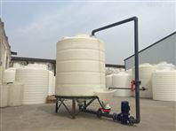 10T锥形软化水箱漏液干净用料好使用寿命长