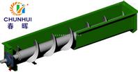 靖江市WLS500無軸螺耐高溫旋輸送機優點