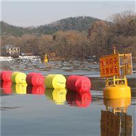 加工滚塑拦污浮体 眉山河流警示浮筒