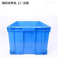 南通塑�料周转箱700-400箱HDPE物料箱