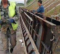 高速公路水泥预制 防撞墙铁模具
