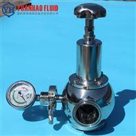 不銹鋼衛生級高潔淨快裝減壓閥