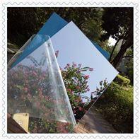 亚克力背胶镜片  有机玻璃塑料银色镜片