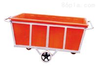 九江K1100L塑料方箱 加厚耐酸碱纺织推车