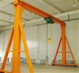 單梁10噸龍門架訂制-簡易軌道移動龍門吊