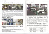 塑料片材生产线 +地毯覆合设备