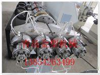 一出四pvc穿線管設備 pvc線管生產線