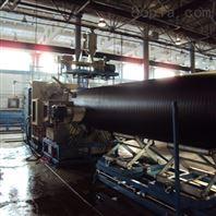 HDPE中空壁缠绕管生产线