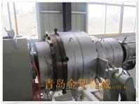 供水管材生产线 pe315燃气管生产设备