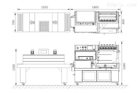 塑料砧板收缩包装机,济南收缩机厂家