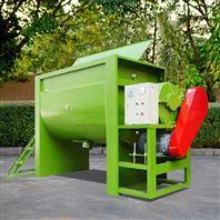 HRS-500低噪音马力充足双轴卧式搅拌机厂商