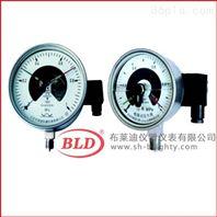 布莱迪/电接点压力表不锈钢防腐/轴向嵌装
