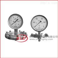 上海布莱迪/膜片压力表/不锈钢防腐