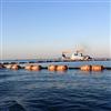 FT110*140*22海上采沙船管道浮筒吹填输送管浮体