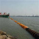 采沙船配套浮体夹管浮筒生产厂家