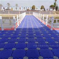 海上施工警示浮桥 钓鱼项目监测平台浮筒