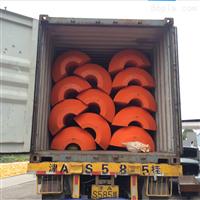 FT50*80*2510寸挖沙船浮筒中密度聚乙烯浮体规格