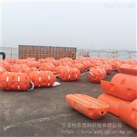 大坝拦渣浮筒 水面拦污浮漂桶