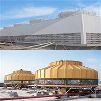 逆流式冷却塔 材质全钢或玻璃钢+塑料配件