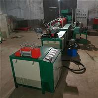 电商专用水蜜桃包装网套机,泡沫网套生产线