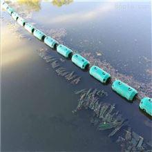 河道垃圾拦截塑料浮体