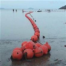 FQ-500海上穿心攔船警示浮球