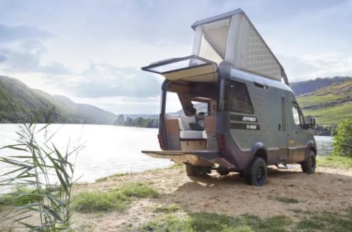 巴斯夫攜手HYMER打造未來式房車